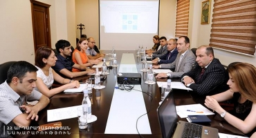 The Prison Monitoring group had e meeting with the Minister of Justice Artak Zeynalyan
